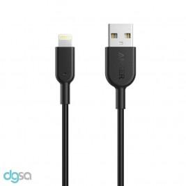 کابل تبدیل Lightning به USB انکر مدل PowerLine II به طول 3 فوت