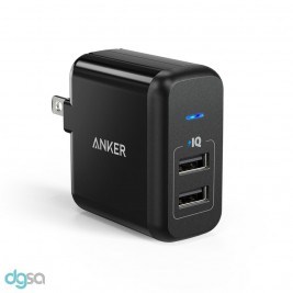 Anker PowerPort 2 Ports 24W Wall Charger
