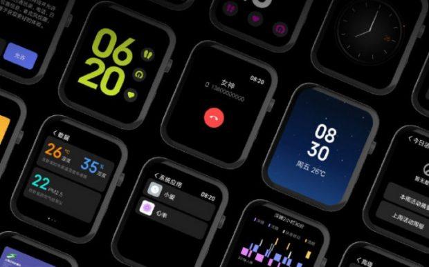 ساعت هوشمند شیاومی