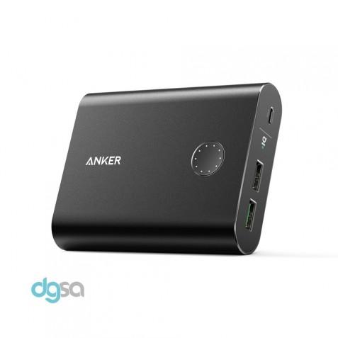 شارژر همراه انکر مدل A1316 PowerCore Plus With Quick Charge 3.0 با ظرفیت 13400 میلی آمپر ساعتپاوربانک