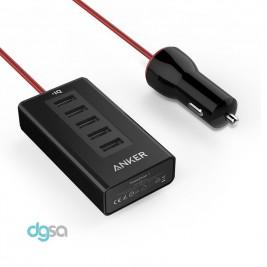 شارژر خودرو انکر مدل PowerDrive 5شارژر موبایل