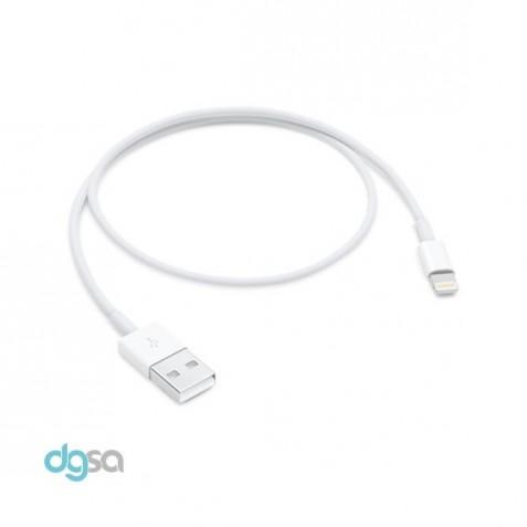 ابزار ارتباط کابل تبدیل Lightning به USB اپل به طول 0.5 متر