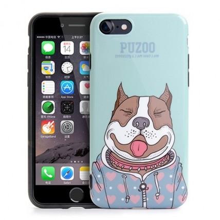 قاب Puzoo مدل ArtDog - Baby مناسب گوشی iPhone 7کیف و کاور گوشی