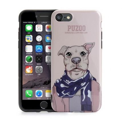 قاب Puzoo مدل ArtDog -Aboo مناسب گوشی iPhone 7کیف و کاور گوشی