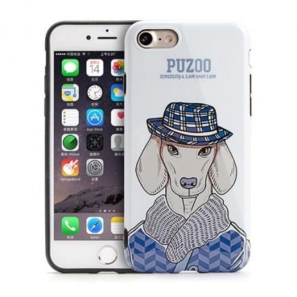 قاب Puzoo مدل ArtDog - Ravan مناسب گوشی iPhone 7کیف و کاور گوشی