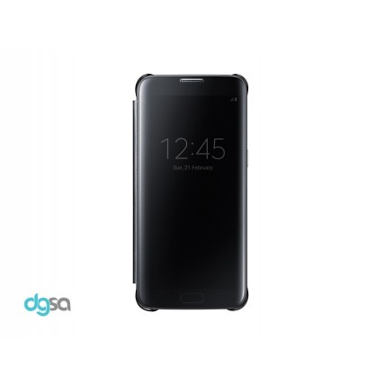 کیف کلاسوری سامسونگ مدل Clear View مناسب Galaxy S7 Edgeکیف و کاور گوشی