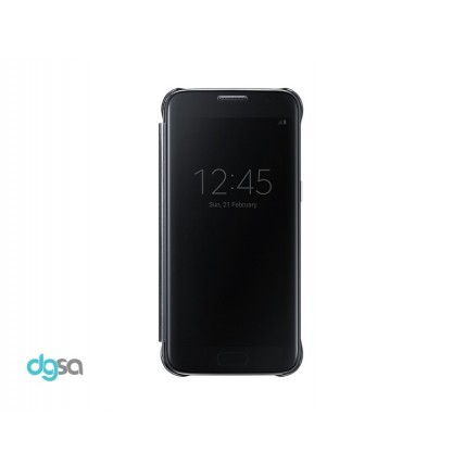 کیف کلاسوری سامسونگ مدل Clear View مناسب Galaxy S7کیف و کاور گوشی