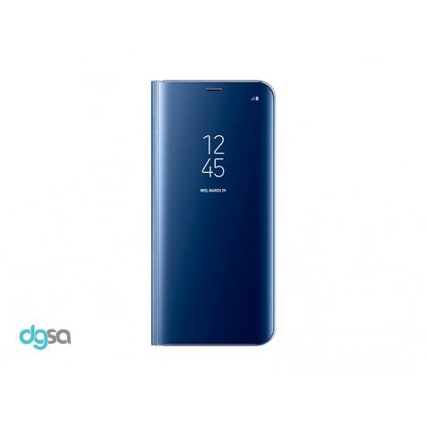 کیف کلاسوری سامسونگ مدل Clear View Standing مناسب +Galaxy S8کیف و کاور گوشی
