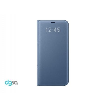 کیف کلاسوری سامسونگ مدل LED View مناسب +Galaxy S8کیف و کاور گوشی