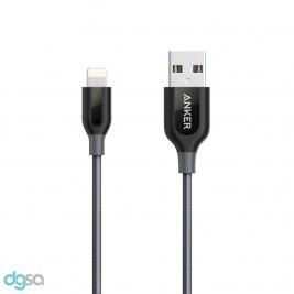 ابزار ارتباط کابل تبدیل Lightning به USB انکر مدل +PowerLine به طول 3 فوت