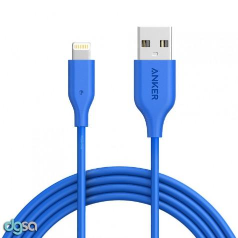 ابزار ارتباط کابل تبدیل Lightning به USB انکر مدل PowerLine به طول 6 فوت
