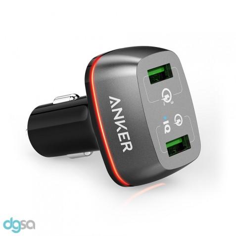 شارژر موبایل شارژر خودرو انکر مدل PowerDrive+ 2 (مجهز به تکنولوژی Quick Charge 3.0)