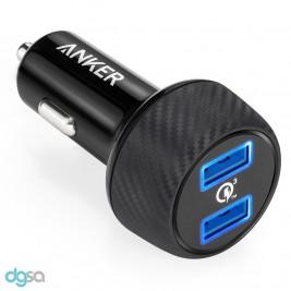 شارژر خودرو انکر مدل PowerDrive Speed 2شارژر موبایل