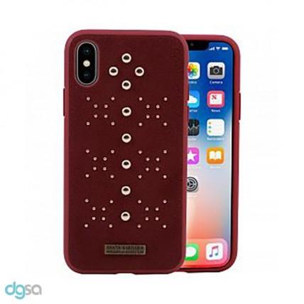 کاور سانتا باربارا مدل AISHA مناسب گوشی iPhone X/XSکیف و کاور گوشی