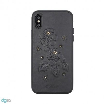 کاور سانتا باربارا مدل AZALEA مناسب برای گوشی موبایل اپل iPhone X/XSکیف و کاور گوشی