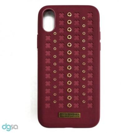 کاور سانتا باربارا مدل Flonrence مناسب برای گوشی موبایل iPhone X/XSکیف و کاور گوشی
