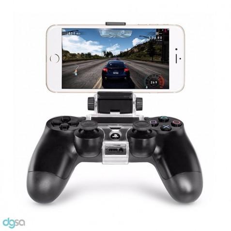 لوازم جانبی کنسول بازی گیره اتصال دسته بازی PS4 به گوشی موبایل دوب مدل TP4-016لوازم جانبی کنسول بازی