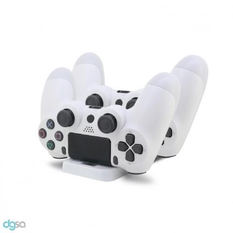 لوازم جانبی کنسول بازی پایه شارژ دسته بازی PS4 دوب مدل TP4-002W
