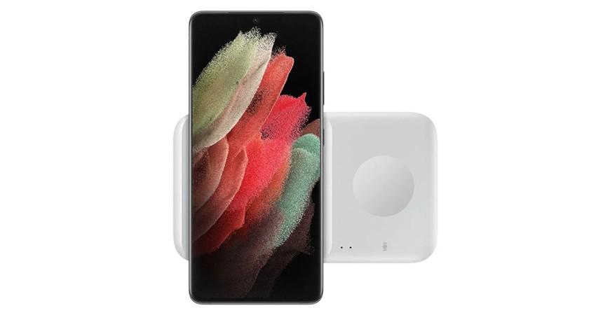 سامسونگ از دو شارژر بی سیم جدید گوشی های Galaxy S21 رونمایی خواهد کرد