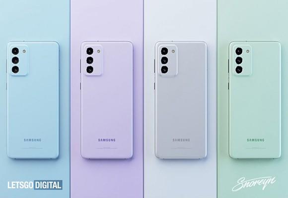 اولین تصاویر رندر گوشی Galaxy S21 FE منتشر شد