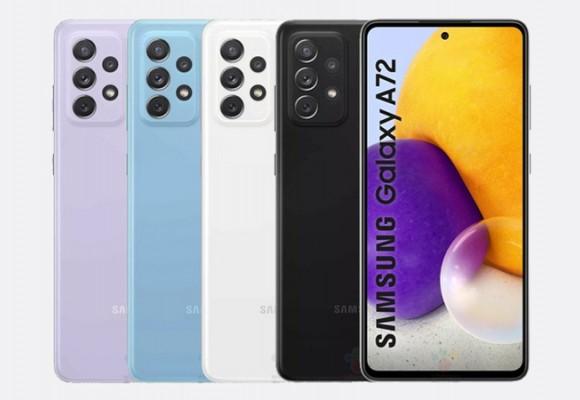 گوشی سامسونگ Galaxy A72 4G در لیست Google Play Console قرار گرفت