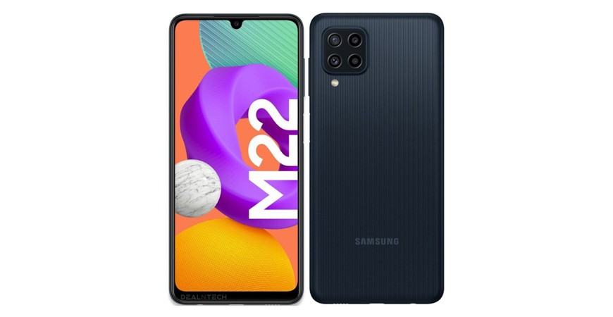 تصاویر رندر گوشی سامسونگ Galaxy M22 منتشر شد