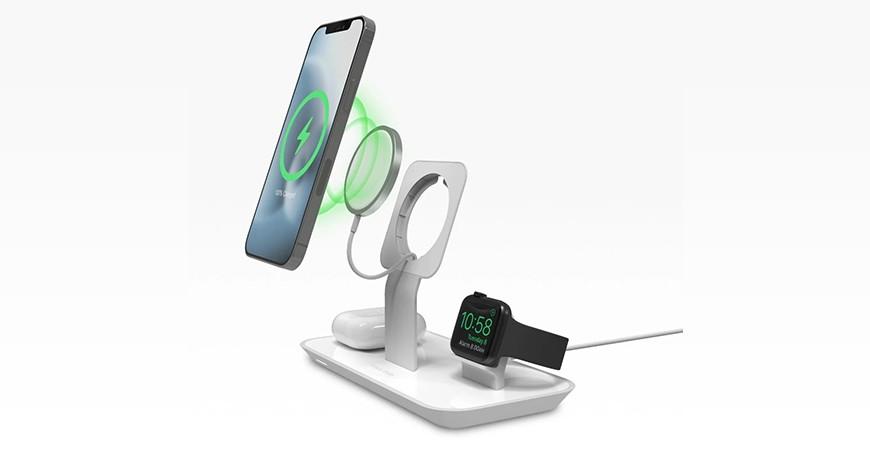 پایه شارژ چند منظوره موفی برای گوشی آیفون 12 و دیگر محصولات اپل معرفی شد